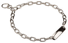 Fur Saver Steel Chrome Plated Collar for Boxer - 1/9 inch (3mm)