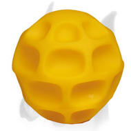 Honeycomb Interactive Treat Dispensing Ball of Tetraflex - Large Size - 5 inch (13cm)