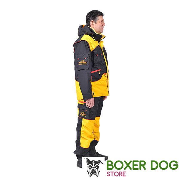 Handy Dog Training Bite Suit with Side Pockets