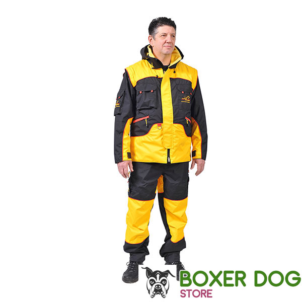 Pro Training Suit of Wind Resistant Membrane Fabric