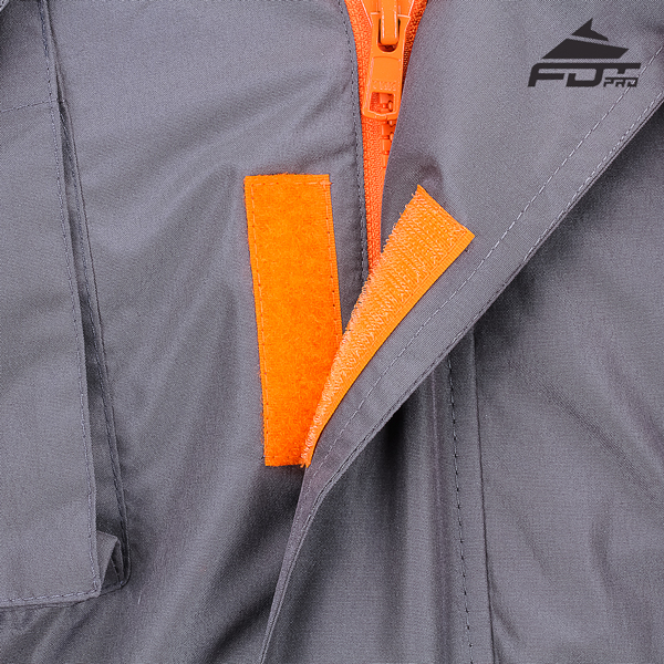 Top Rate Velcro Fastening on Dog Tracking Jacket for Everyday Use