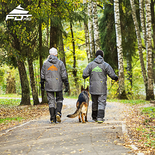 FDT Pro Dog Trainer Jacket of Quality for All Weather Use