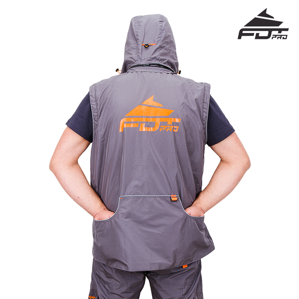 FDT Professional Dog Tracking Jacket with Side Pockets for your Comfort
