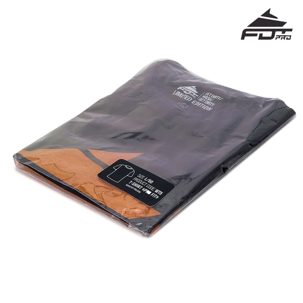 Packed FDT Pro T-shirt of Dark Grey