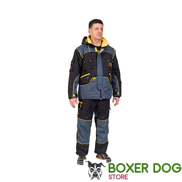 Water Resistant Protection Dog Bite Suit for Comfy Workout