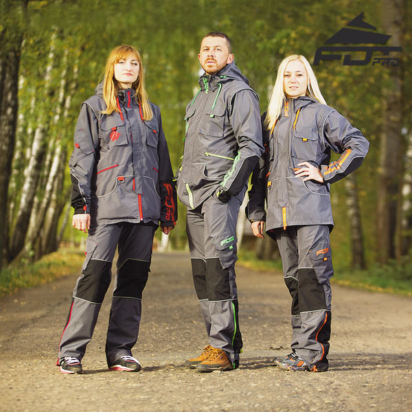 High Quality Dog Training Suit for Any Weather Use