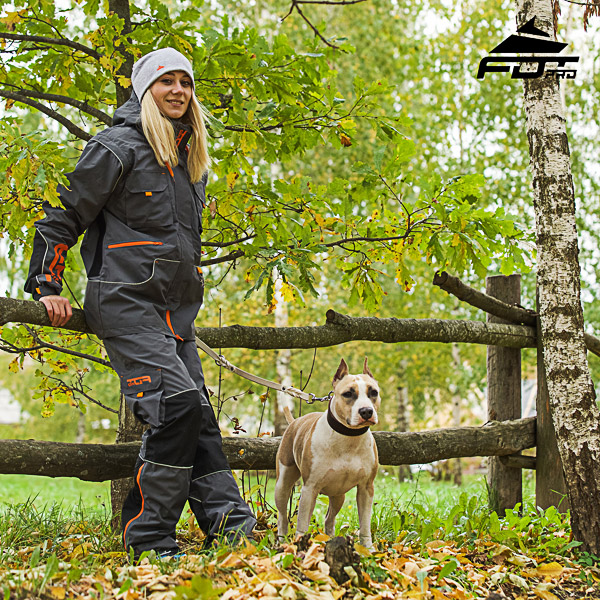 Men / Women Design Pants with Convenient Back Pockets for Active Dog Training