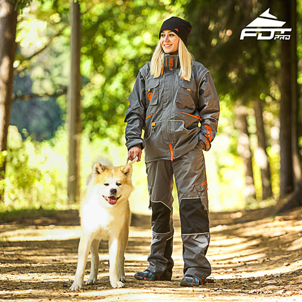 Men and Women Design Dog Training Jacket of Top Quality Materials