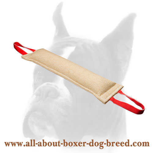 Jute Boxer Bite Tug for Training of Grown Up Dogs