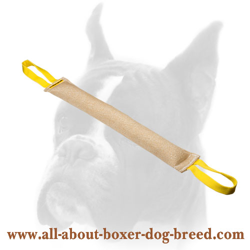 Durable Training Jute Bite Tug for Puppy Training