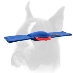 French Linen Bite Pad for Boxer Training