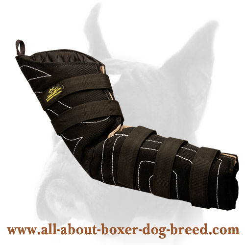 Hidden Protection Boxer Bite Sleeve for Training