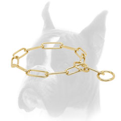 Boxer Fur Saver Choke Collar