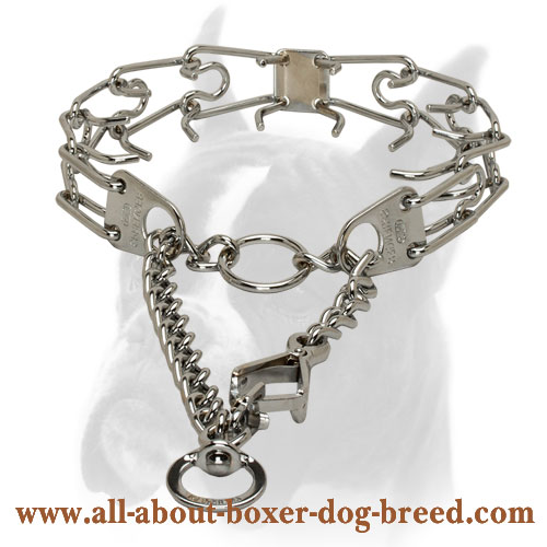 Ultra Functional HS PInch Collar of Chrome Plated Steel ...