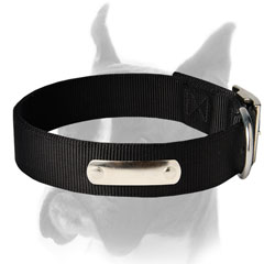 Boxer Dog Collar of two-ply Nylon