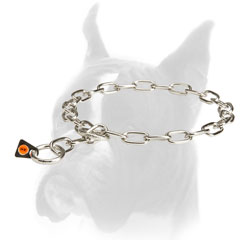 Stainless Steel Boxer Fur Saver Collar