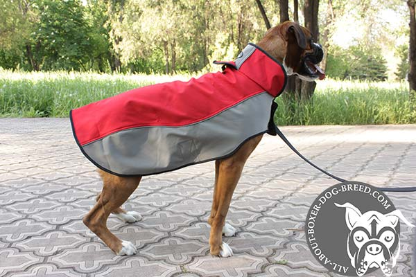 Nylon Boxer Coat for Walking in Cold Weather