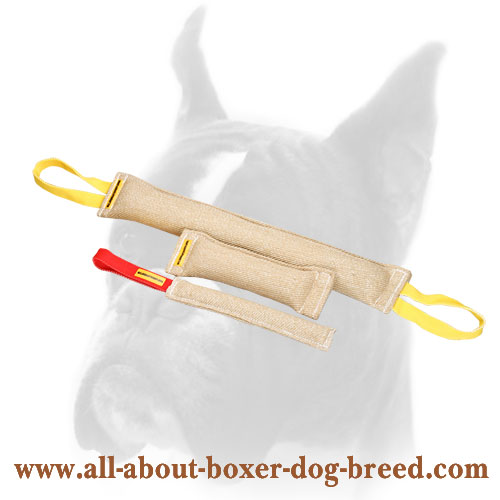 Jute Dog Bite Tugs  Equipped with one Handle