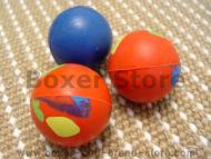 Bright Crazy Color Rubber Ball for Boxer - 2.3 inch (6cm)