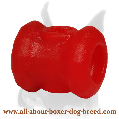 Fire Plug Chew Dog Toy for Boxer Puppy - Small