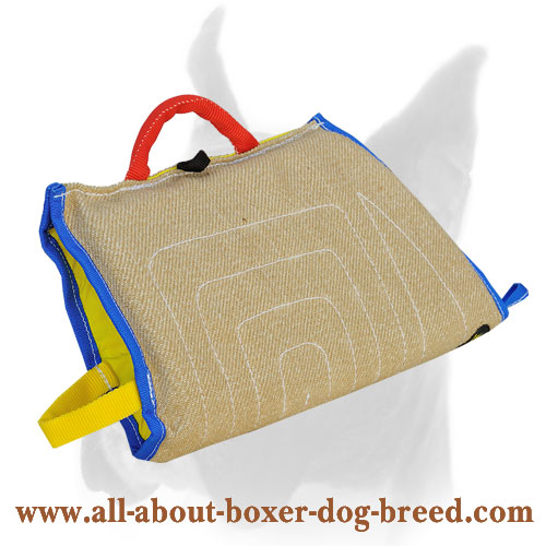 Jute Puppy Boxer Bite Half Sleeve with Comfy Handle