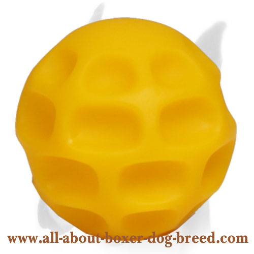 Challenging Treat Dispensing Tetraflex Ball - Small Size 3 inch (7 cm)