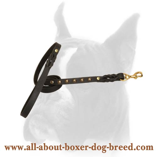 Exceptional quality Handmade Leather Leash