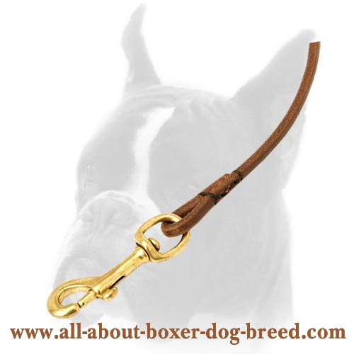 Exclusive 5mm wide Leather Leash of Genuine Leaher