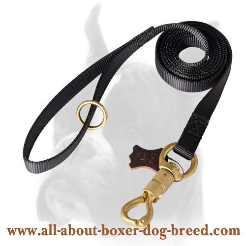 Boxer Dog Leash of Water-proof Nylon