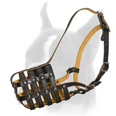 Best fit Muzzle with adjustable straps